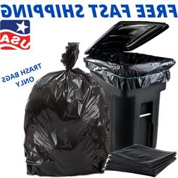 25 Trash Bags for 96 Gallon Wheeled Trash Can Liners Garbage
