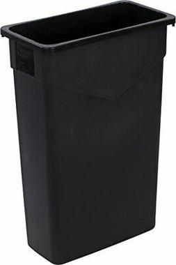 Carlisle 34202303 TrimLine Rectangle Waste Container Trash C