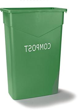 Carlisle 342023CMP09-E TrimLine Plastic Compost Container, 2