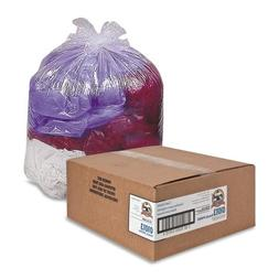 "Genuine Joe Clear Trash Bags, 33 Gallon, 0.6 Mil, 33"" X 39"","