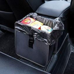 Hanging Car Trash Bag Can Premium Waterproof Litter Garbage