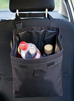 Hominize Car Trash Can - Premium Waterproof Litter Garbage B