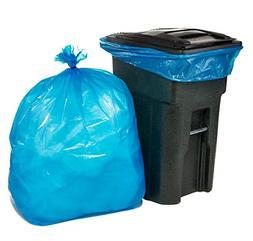 Plasticplace 65 Gallon Recycling Trash Bags │1.5 Mil │ B