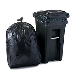 "Plasticplace 65 Gallon Extra Heavy Trash Bags , 2.7 Mil, 50"""