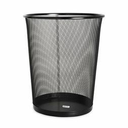 Rolodex Mesh Round Wastebasket, 11-1/2 Diameter x 14-1/4 H,