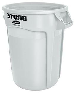 Rubbermaid Commercial BRUTE Trash Can, 20 Gallon, White, FG2