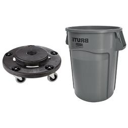 Rubbermaid Commercial Brute Trash Can WITH Dolly
