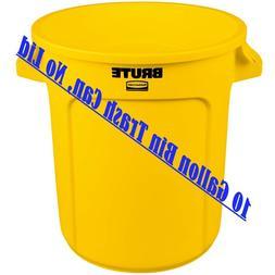 Rubbermaid Commercial FG261000YEL Brute Heavy-Duty Waste/Uti