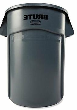 Rubbermaid Commercial FG265500GRAY Brute Heavy-Duty Waste/Ut
