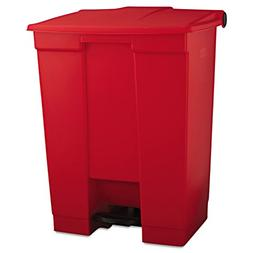 Rubbermaid Commercial Step-On Waste Container, Rectangular,