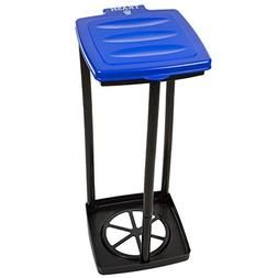 Wakeman Portable Trash Bag Holder- Collapsible Trashcan for