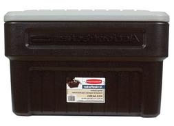 24 Gallon ActionPacker Storage Container in Black