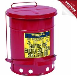 Auto Mechanic Shop Trash Can Bin For Oil Fuel Dirty Rag Towe
