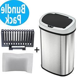 SensorCan OS13FG Automatic Touchless Sensor Kitchen Trash Ca