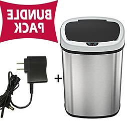 automatic touchless sensor trash can