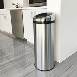 Automatic Trash Can Touchless Sensor Stainless Steel Kitchen