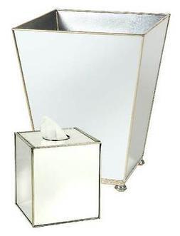 Bathroom Sets Bathroom Trash Can Waste Baskets & Tissue Box