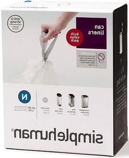 Simplehuman Bin Trash Can Bags Liners New 45-50l Litres Size