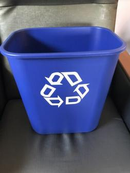 Rubbermaid Bin Trash Can Garbage Recycling Waste Recycle Gal