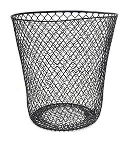 Essentials Wire Mesh Waste Basket