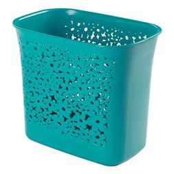 InterDesign Blumz Wastebasket Trash Can for Bathroom, Kitche