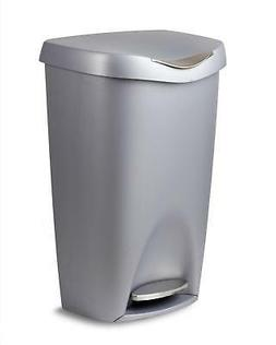 Umbra Brim 13 Gallon Trash Can with Lid - Large Kitchen Garb