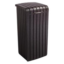Keter 30 Gal. Brown Classic Styling Copenhagen Wood Style Pl