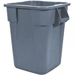 Rubbermaid Commercial Brute Container, Square, Polyethylene,
