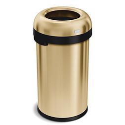 simplehuman Bullet Open 60 Liter / 15.9 Gallon Commercial He