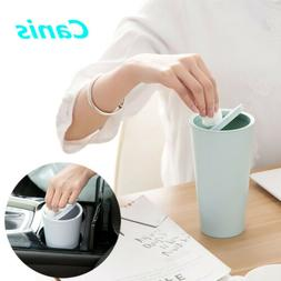 Car Auto Trash Wastebasket Can Litter Container Garbage Home