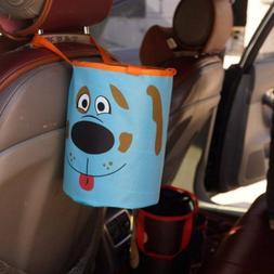 Car Foldable Large Capacity Trash Can Garbage Storage Bucket