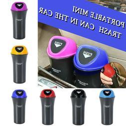 Car Trash Can Garbage Mini Dust Bin Coin Holder Ashtray Cup