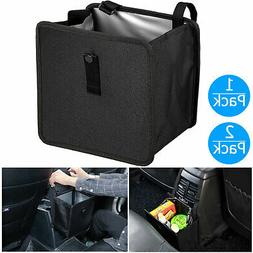 Car Waste Basket Waterproof Trash Can Holder Litter Bin Stor