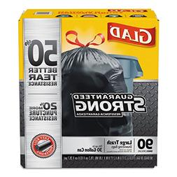 Clorox 78952 Drawstring Large Trash Bags, 30 X 33, 30gal, 1.