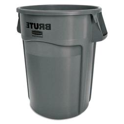 Rubbermaid Commercial Products Brute 55-Gallon Gray Plastic