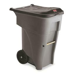 Rubbermaid Commercial Products Brute Rollout 65-Gallon Plast