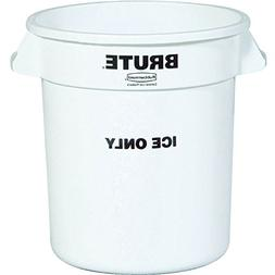 Rubbermaid Commercial Products RCP 9F86 WHI Brute 10 Gallon