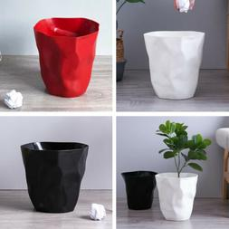 Creative Irregular Trash Can Plastic Wastebasket Dustbin for