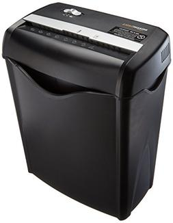 AmazonBasics 6-Sheet Cross-Cut Paper and Credit Card Shredde
