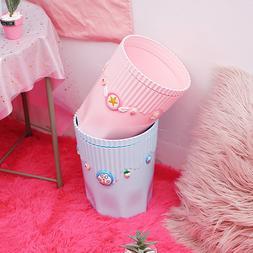 Cute DIY Creative Fashion Stripes Debris Garbage Storage Buc