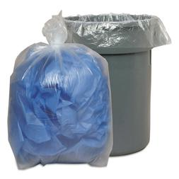 Low-Density Repro Can Liners 40-45 Gallon Trash Bags Waste M