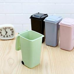 Desk Caddy Mini Curbside Trash Can - Awesome Pen/Pencil Hold