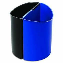 Safco Products Desk-Side Recycling Trash Can 9794BB, Black a