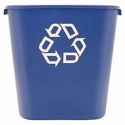Rubbermaid Deskside Recycling Container Trash Can 28.125 qt.