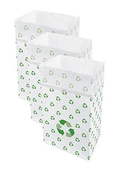 Clean Cubes 30 Gallon Disposable Trash Cans & Recycling Bins