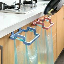 Door Back Portable Garbage Bag Holder Home Cabinet Rag Hangi