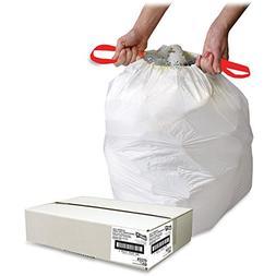 Genuine Joe Drawstring Trash Can Liner - Trash Bag - 16 gal