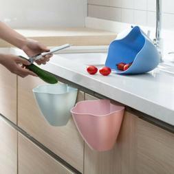 Durable Kitchen Cabinet Door Hanging Trash Garbage Bin Can R