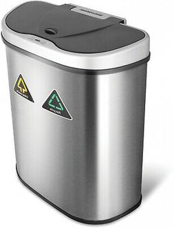 Trash Can Electric Auto Garbage Kitchen Automatic Bin With L