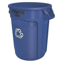 RUBBERMAID COMMERCIAL PRODUCTS FG262073BLUE BRUTE Round Recy